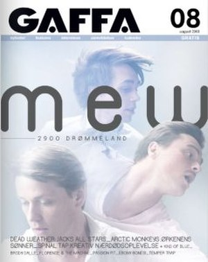 Gaffa (magazine) - The August 2009 issue of Gaffa
