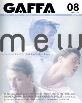 Gaffa (magazine) - The August 2009 issue of Gaffa