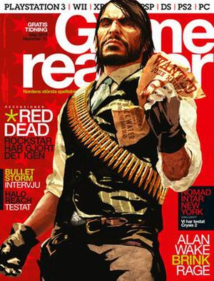Gamereactor - Image: Game reactor cover red dead redemption