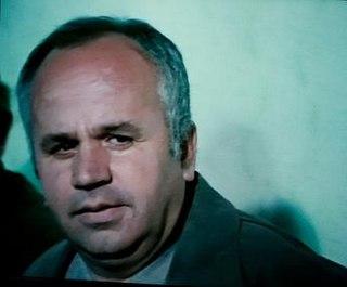Georgi Rusev Bulgarian theatre and film actor