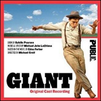 Giant (musical) - Original Off-Broadway Cast Recording
