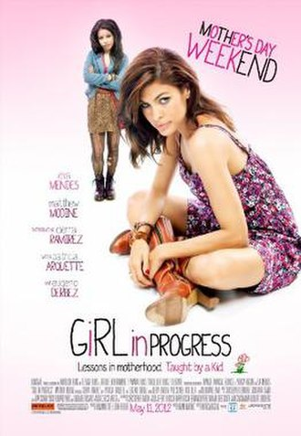 Girl in Progress - Theatrical release poster