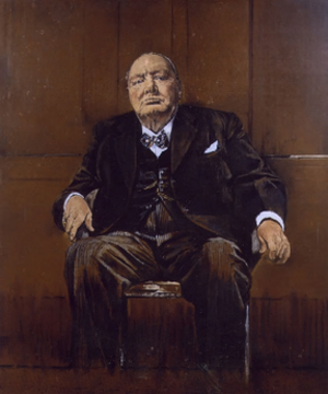 Sutherland's Portrait of Winston Churchill - Graham Sutherland's 1954 portrait of Winston Churchill