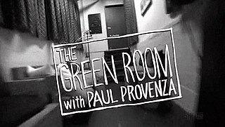 <i>The Green Room with Paul Provenza</i>