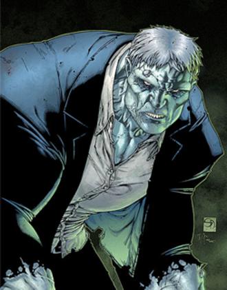 Solomon Grundy (comics) - Image: Grundyfoe