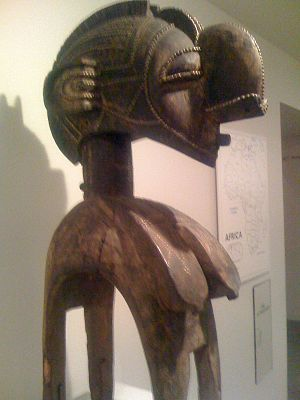 Baltimore Museum of Art - Baga female dance headdress from Guinea.
