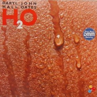 H2O (Hall & Oates album) - Image: Hall & Oates H2O vinyl album cover