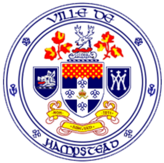 Hampstead, Quebec - Image: Hampstead seal
