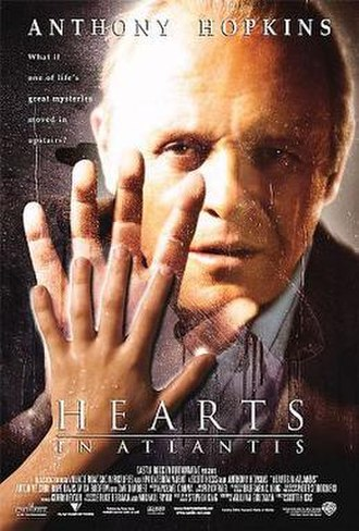 Hearts in Atlantis (film) - Theatrical release poster