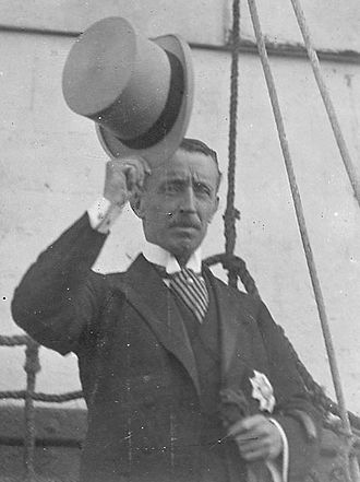 Henry Galway - Newly appointed Governor Sir Henry Galway arriving at Outer Harbour in 1914