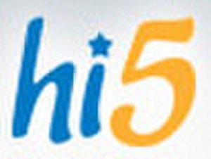 Hi5 - Previous Hi5 logo used until 2010.