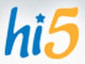 Hi5 - Previous Hi5 logo used until 2010.