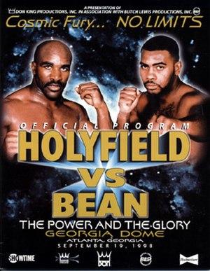 Evander Holyfield vs. Vaughn Bean - Image: Holyfield vs Bean