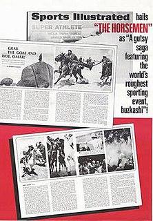 <i>The Horsemen</i> (1971 film) 1971 film by John Frankenheimer