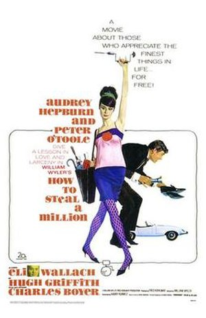 How to Steal a Million - film poster by Robert McGinnis