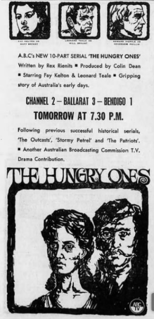 <i>The Hungry Ones</i> 1963 Australian television series