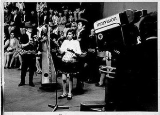 Television in Colombia - Television live broadcast in Inravisión studios during the mid 1960s (Bogotá), where the first Colombian television shows were produced