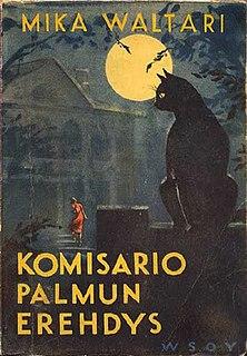 <i>Inspector Palmus Mistake</i> (novel) Novel by Mika Waltari