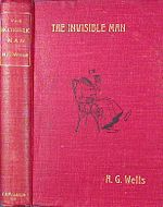 First edition (1897) cover of The Invisible Man