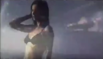 """Edge of the Ocean - Sun rays appear through scenes in the music video for """"Edge of the Ocean""""."""