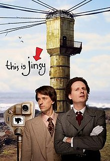 <i>This is Jinsy</i> British comedy series