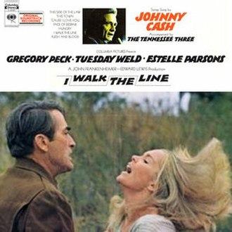 I Walk the Line (soundtrack album) - Image: Johnny Cash I Walk The Line Soundtrack