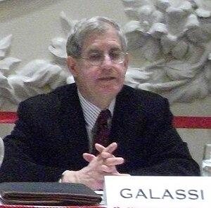 Jonathan Galassi - Jonathan Galassi speaking at the Grand Ballroom of the New Yorker Hotel, 2011