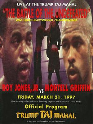 Roy Jones Jr. vs. Montell Griffin - Image: Jones vs Griffin