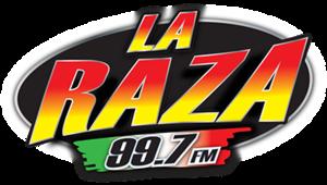 KHLT-FM - Image: KHLT La RAZA99.7 logo