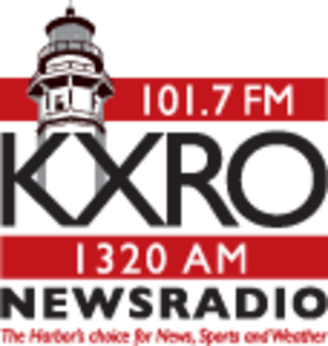 KXRO - Image: KXRO 101.7 1320Newsradio logo