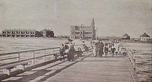 Albert Park, Victoria - Kerferd Road Pier (1905)