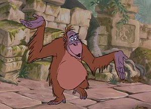 "King Louie - King Louie singing ""I Wan'na Be Like You""."