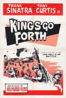 Kings Go Forth - 1958 - Poster.png