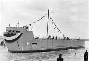 USS LSM(R)-195 - Image: LSRM195