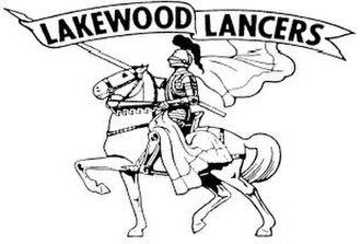 Lakewood High School (California) - Image: Lakewood Lancers Logo