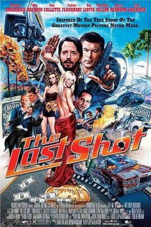 The Last Shot - Theatrical release poster