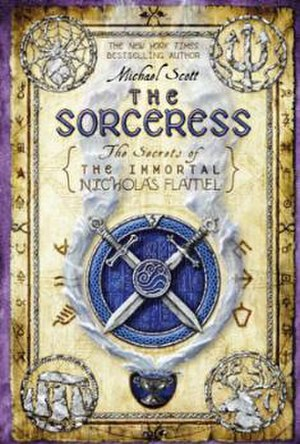 The Sorceress: The Secrets of the Immortal Nicholas Flamel - Cover of the first edition