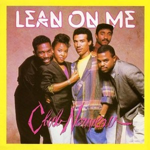 Lean on Me (song) - Image: Lean On Me CN