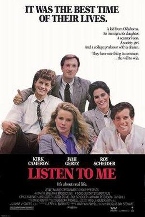 Listen to Me (film) - Theatrical Release Poster