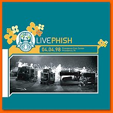 Live Phish 4-4-98 (album cover).jpg