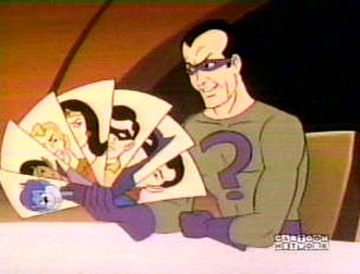 Riddler - The Riddler as he appears in Challenge of the Super Friends.