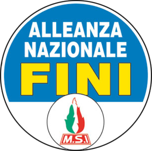 National Alliance (Italy) - Image: Logo AN 2006