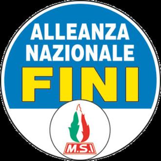 National Alliance (Italy) - Image: Logo AN 2006
