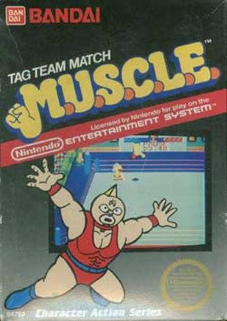 Tag Team Match: MUSCLE - Cover art of M.U.S.C.L.E.