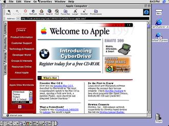 Classic Mac OS - Mac OS 8.1 desktop