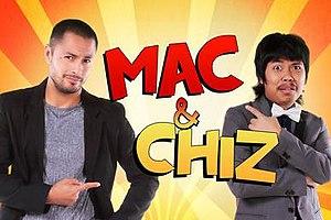 Mac and Chiz - Image: Macandchiztitlecard