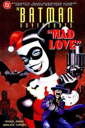 The Batman Adventures: Mad Love - Cover of The Batman Adventures: Mad Love (1994)
