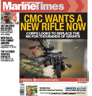 Marine Corps Times - Image: Marine Corps Times cover of issue dated April 10, 2017