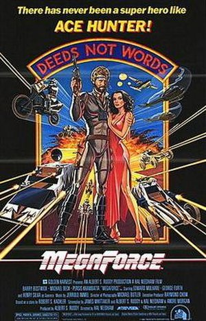 Megaforce - Theatrical release poster