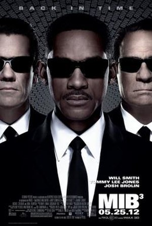 Men in Black 3 - Theatrical release poster
